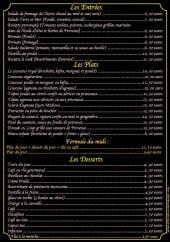 Menu Le souk provençal - Les entrées, plats, desserts et la formule midi