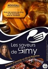 Menu Les saveurs de simy - Carte et menu les saveurs de simy aix en provence
