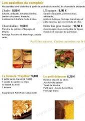 Menu Papilles by Laurane - Les assiettes du comptoir