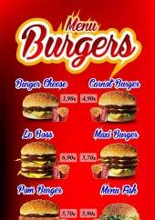 Menu Petit carnot - Les menus burgers