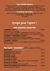Menu Tapas Café - Les grandes salades, les salades et typiques