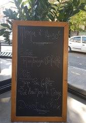 Menu Café du Midi - Le menu du jour