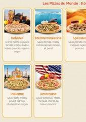Menu La roquette - Les pizzas page 2