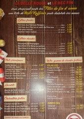 Menu Le bec fin - Les entrées, plats, desserts,...