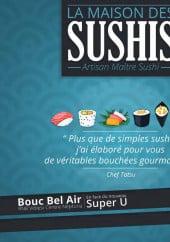 Menu La Maison Des Sushis - Carte et menu La Maison Des Sushis Bouc Bel Air