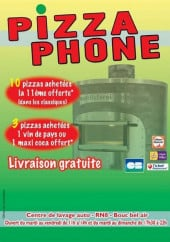 Menu Pizza Phone - Carte et menu Pizza Phone Bouc Bel Air
