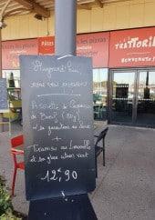 Menu Trattoria e Capricci - Exemple de menu