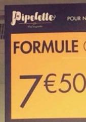 Menu Le Fournil - formule gourmande
