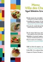 Menu Chefs en Provence - Le menu villa des chefs à 29€ et 39€