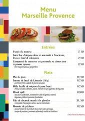 Menu Chefs en Provence - Le menu Marseille provence à 22,5€ et 29,5€