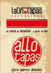 Menu Latin'tapas - Carte et menu latin'tapas istres