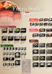 Menu Fujiya Sushi - Carte et menu à Bois Guillaume