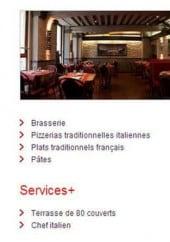 Menu Pizza La Maison d'Italie - information sur les menus