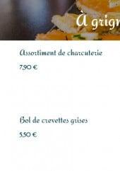 Menu Taverne du château - Apéritifs