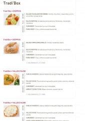 Menu Delicecook - Les tradi'box