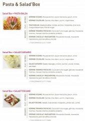 Menu Delicecook - Les salades et les pâtes