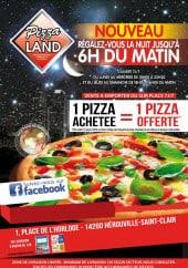 Menu Pizza land - Carte et menu pizzaland herouville