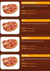 Menu La Pizza Phoenix - La pizza: végétarienne, normande,...