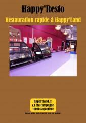 Menu Happy'Land - Carte et menu Happy'Land Angouleme