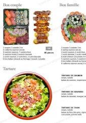 Menu Sushi 16 - Les box et tartares