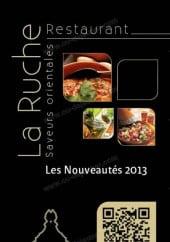 Menu La Ruche - Carte et menu La Ruche La Rochelle brochure 1