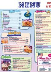 Menu Emily's - Les burgers, hot dogs, salades et starters