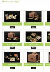 Menu Illico Saveurs - Plateaux repas et buffets