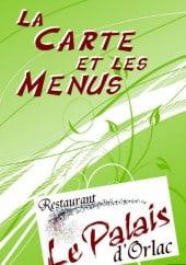 Menu Le Palais d'Orlac - La carte et menu du Palais d'Orlac de Dompierre sur Charente