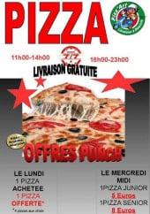Menu Pizza Art - Carte et menu Pizza Art Brive la Gaillarde