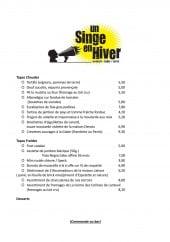 Un Singe En Hiver 224 Brive La Gaillarde Carte Menu Et Photos