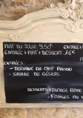 Menu Au Buffon Chez Eddy - Exemple de plat et menu du jour