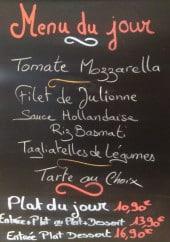 Menu La Brasserie Des Loges - Un exemple de menu du jour