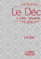 Menu Le Déclic - Carte et menu Le Déclic Dijon