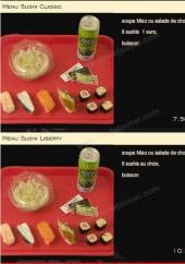 Menu Mon sushi - menu sushi classic et sushi liberty