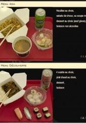 Menu Mon sushi - menu asia et découverte