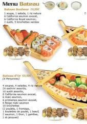 sushi d 39 or dijon carte menu et photos. Black Bedroom Furniture Sets. Home Design Ideas