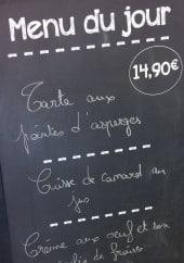 Menu Le bistrot d'ici - Un exemple de menu du jour