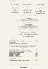 Menu Le clos mutaut - Formules, entrées, plats,....