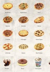 Menu 911 Pizza - Les pizzas et desserts