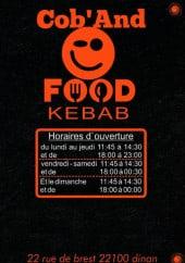 Menu Cob'And food - Carte et menu Cob'And food Dinan