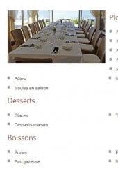 Menu La vénézia - Les informations sur le menu