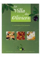 Menu La Villa des Oliviers - Carte et menu la Villa des Oliviers Guingamp