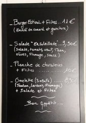 Menu A La Porte Saint Jean - Exemple de menu