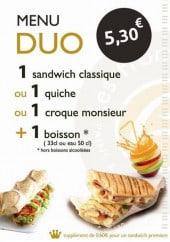 Menu Epi Gaulois - Le menu duo