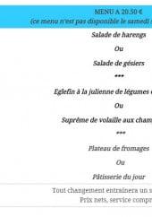 Menu Le passe muraille - menu 20,50€