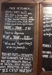 Menu Candy's Café - Dejeuner, soupes, plat du jour...