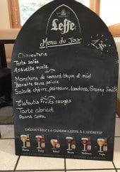 Menu Le Café De La Truffe - Exemple de menu