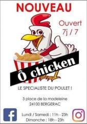 Menu Ô Chicken - carte et menu Ô Chicken  Bergerac