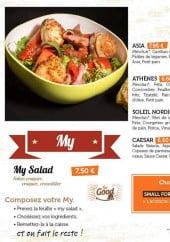Menu Jules & John - salades