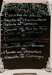 Menu Aux Délices Des Marronniers - Exemple de menu